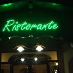 insegne luminose ristorante