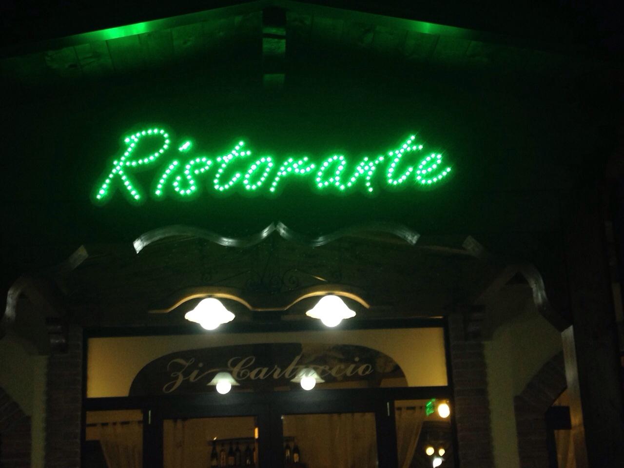 Ben noto insegne luminose ristorante%sep%%Insegne Luminose Napoli per  EL88