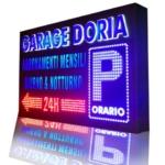insegne luminose garage