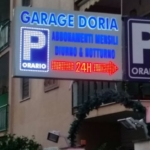 insegne a led garage